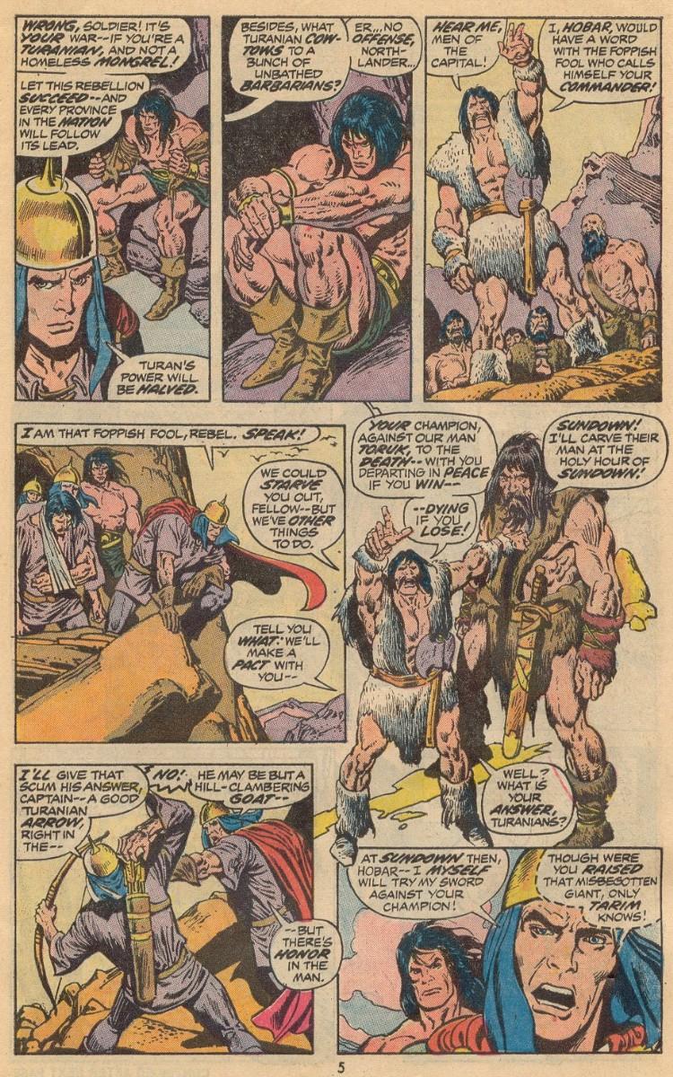 Conan the Barbarian (1970) Issue #31 #43 - English 5