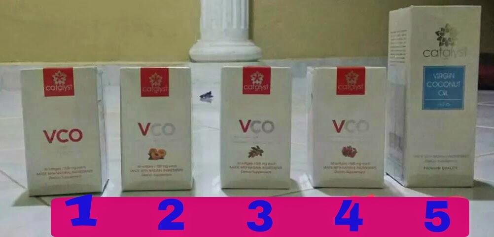 Vco Catalyst , tak tahu nak cuba yang mana satu?