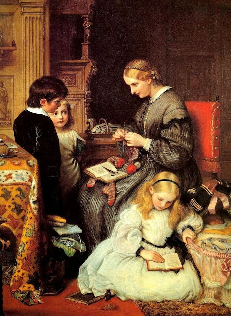 Charles West Cope, Victorian Painting, Painting