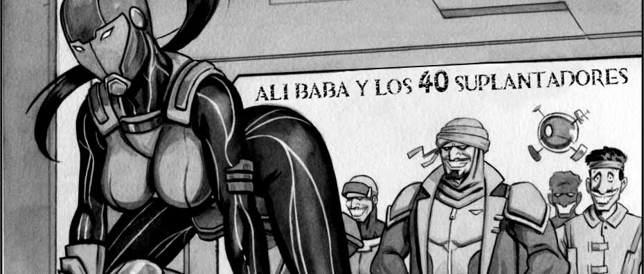 Alí Babá y los 40 suplantadores