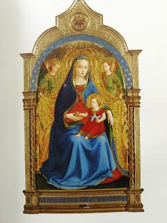 """""""Virgen de la Granada"""" (Fra Angelico, 1426)"""