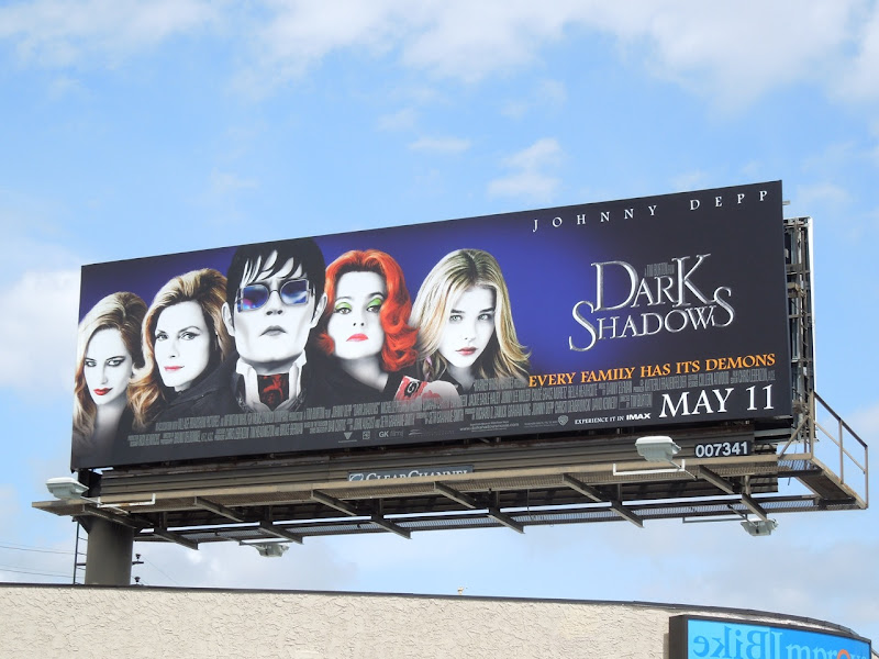 Dark Shadows movie remake billboard