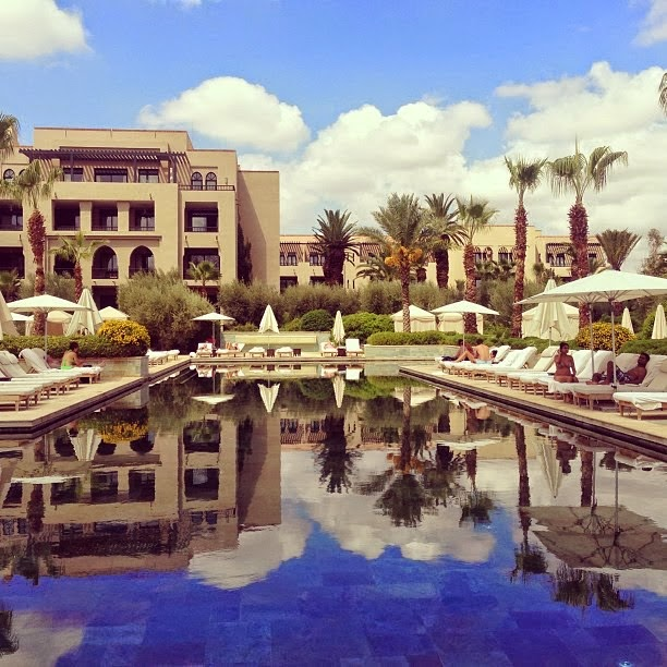 four seasons marrakech pool