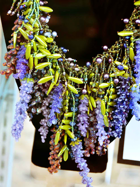 Bead and Button Show wisteria necklace