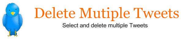 Delete Multiple Tweets