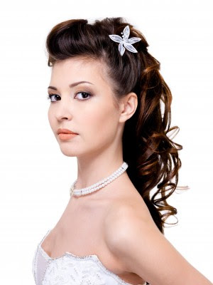 Up 2013 For short hair indian Half Up Half Down | Bridal Hairstyles