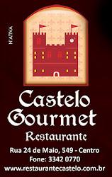 APOIO CULTURAL: RESTAURANTE CASTELO GOURMET