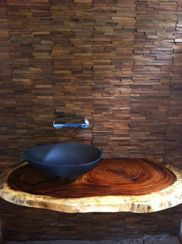 Parota Wood Counter Tops