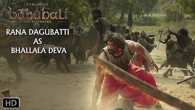 Rana Dagubatti As Bhallala Deva Making Video | Baahubali | Rajamouli