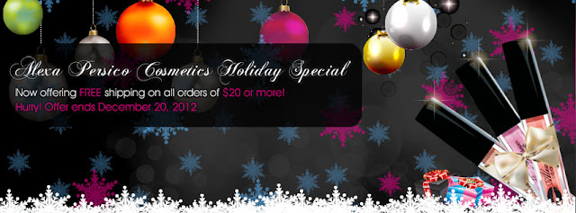 Enjoy free shipping on orders $20 dollars and up through December 20th!