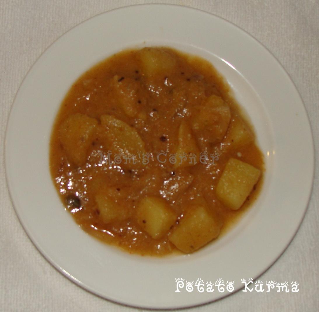 Mom's Corner: Potato Kurma
