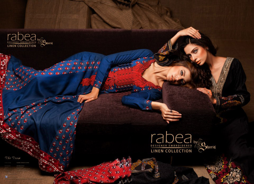 wwwShe9blogspotcom - Rabea Embroidered Linen Collection