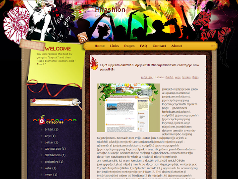 Hifashion Blogger Theme