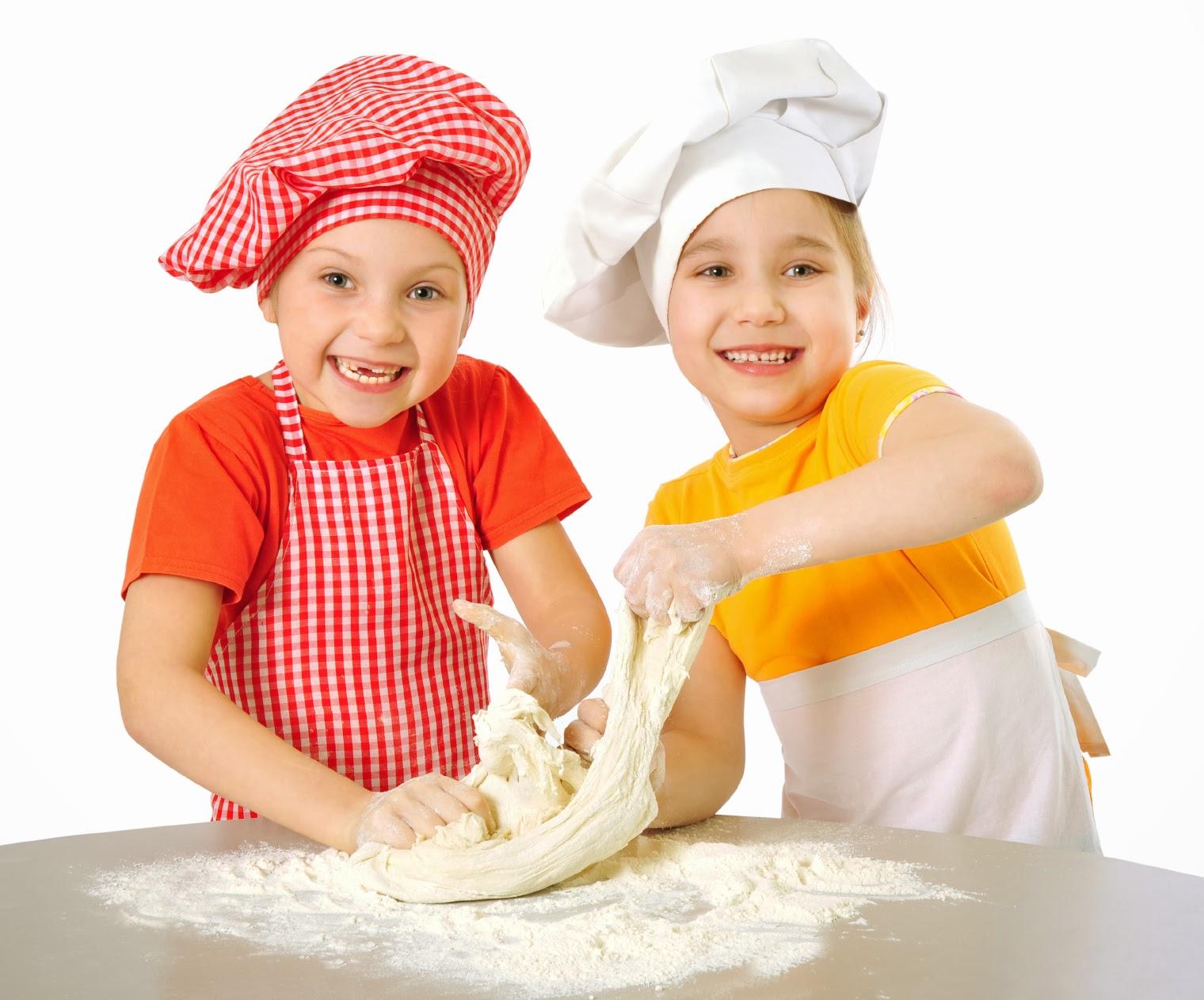 taller de cocina para niños y familia