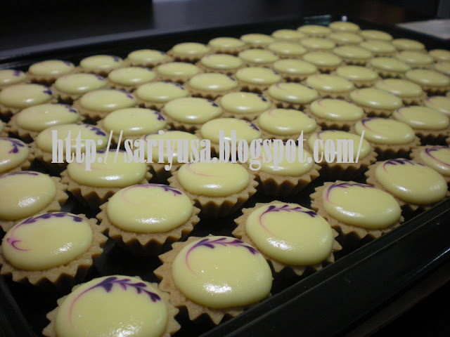 BLUEBERRY CHEESE TART... lagi dan lagi!