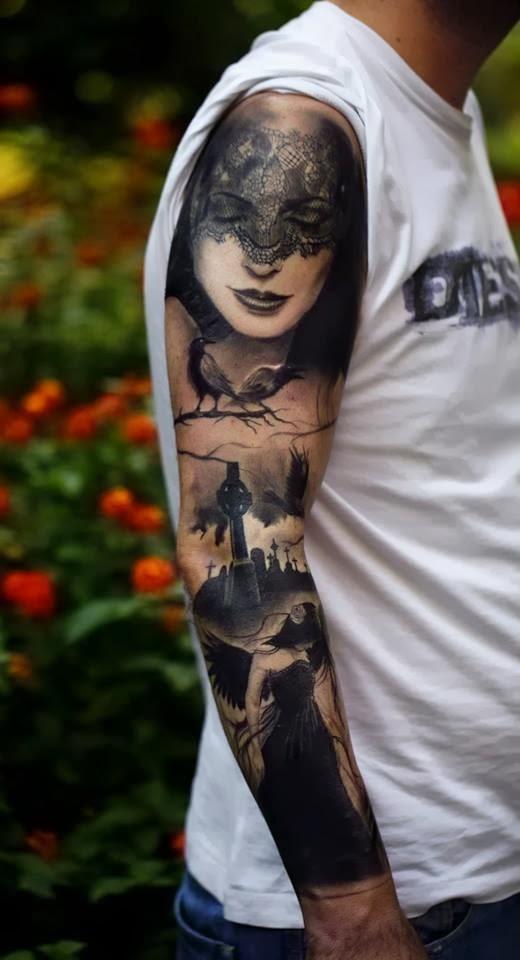 tatuaje de madama black Ideas para tu proximo Tattoo Tatuajes