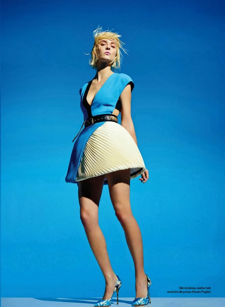 Elyse Saunders HQ Pictures Elle Canada Magazine Photoshoot March 2014
