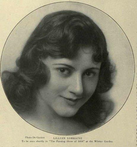 Lillian Lorraine: April 2012
