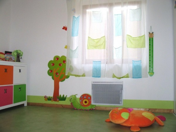 Cuisine Kadral Blanche : Inspirer pour la chambre d – rideau chambre bébé garçon  Vous