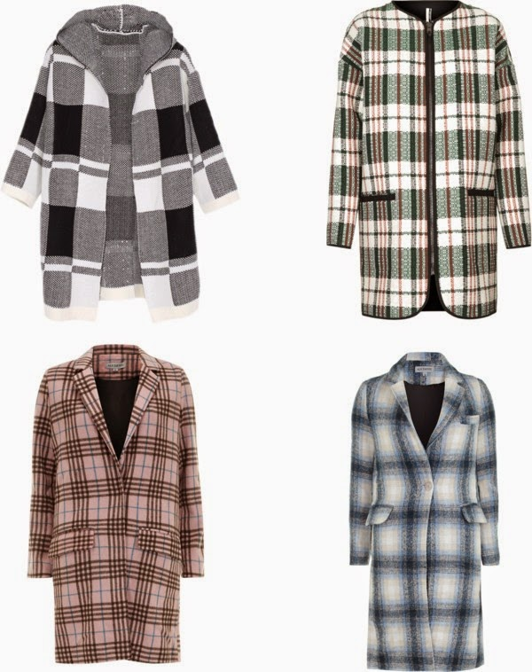 cozy plaid coats