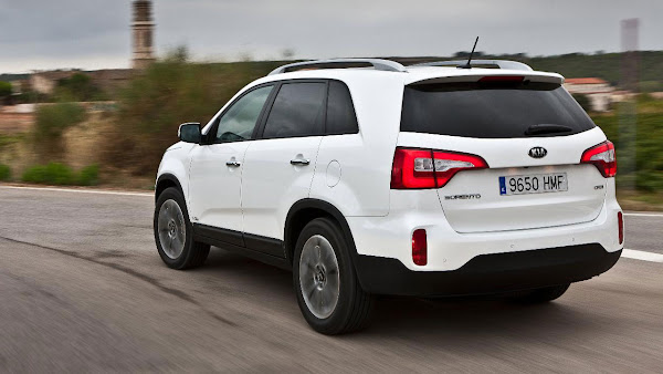 The New Kia Sorento SUV back