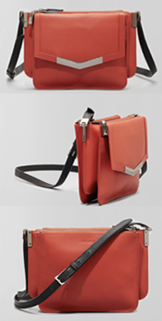 Time's Arrow mini Trilogy cross body bag