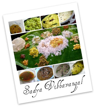 Looking for SADYA recipes?