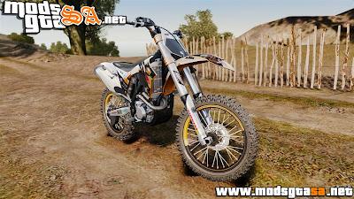 IV - KTM 250 SX-F