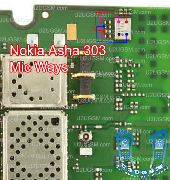 Nokia 305 Mic Solution