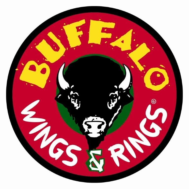 At Buffalo Wings & Rings, groups devour thick-cut onions rings and sauce-slathered wings while catching ESPN games on 14 HDTVs. The namesake wings are served bone-in or boneless at a variety of spice levels, from mild to atomic%(57).