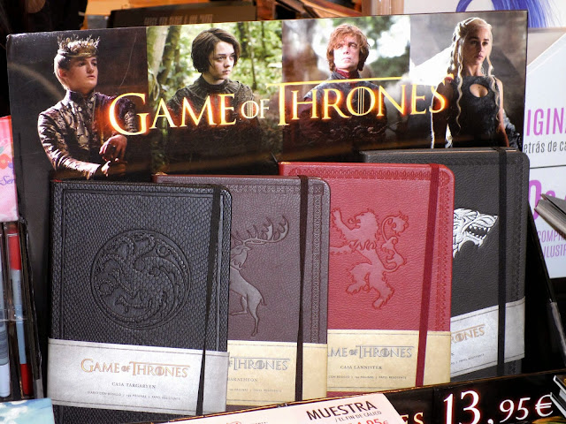 cuadernos oficiales game of thrones