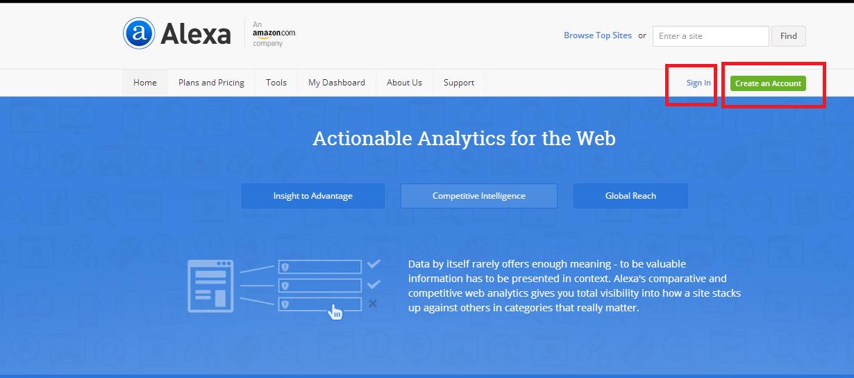 Cara Daftar dan Veritifikasi blog di alexa terbaru