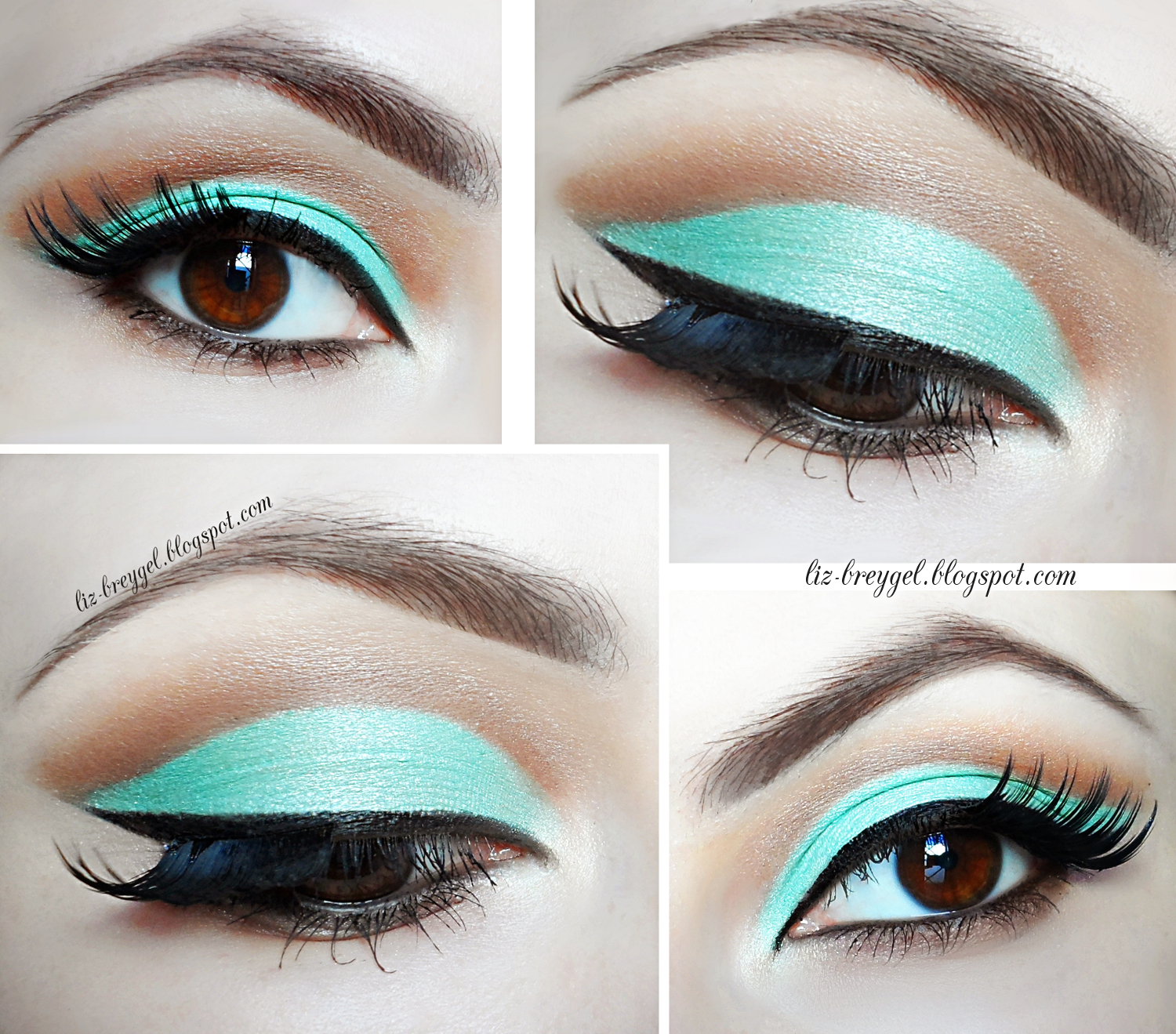 step by step cut crease eyeshadow makeup tutorial pictures