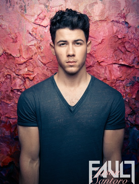 Nick Jonas Covers Fault magazine talks new music.