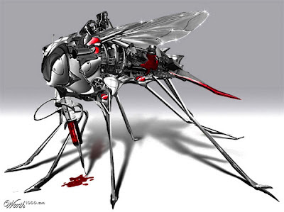 روبوتات من البعوض و الذباب خطيرة جداً لمعلوماتك
