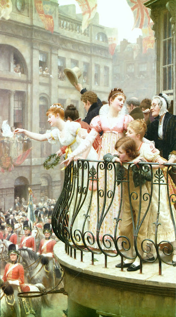 parade,Edmund Blair Leighton,english painter
