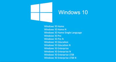 Serial Windows 10 AIO 22 in 1