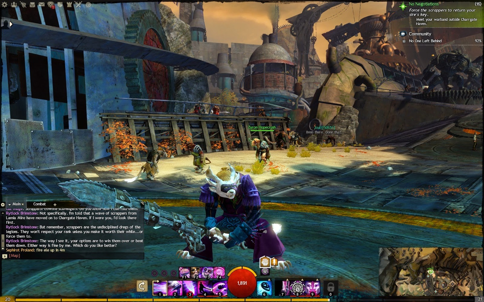 a review of the game guild wars Guild wars 2 is beautiful game that runs very well on most mid-spec machines, but the developer needs to rethink its approach to rewarding the game's most devout players.