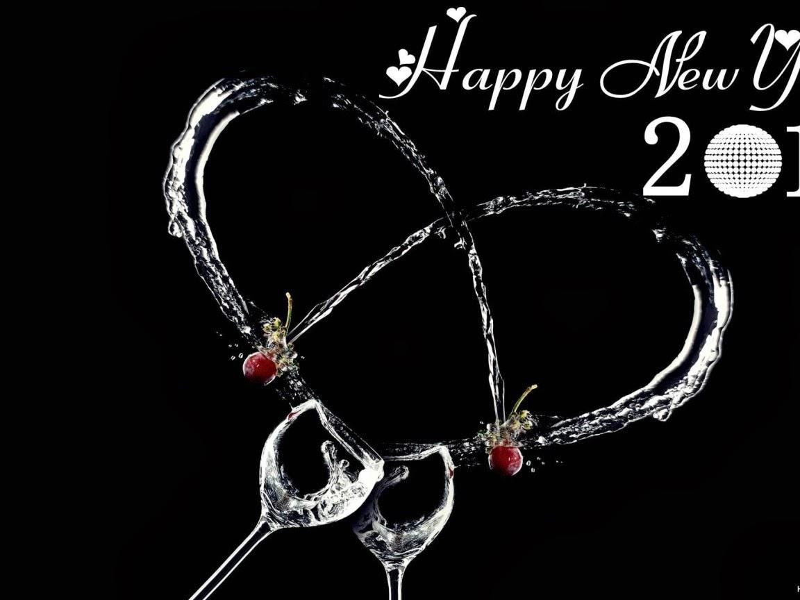 Beautiful new year 2014 HD Image