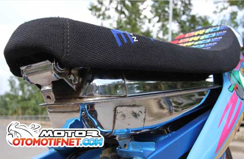 Modifikasi Suzuki Satria F150 Ala Street Racing