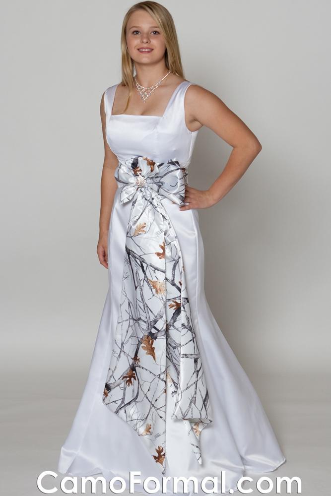 Simple Flowing Wedding Dresses