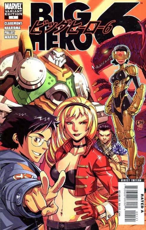 Velká šestka (Big Hero 6) – Komiks