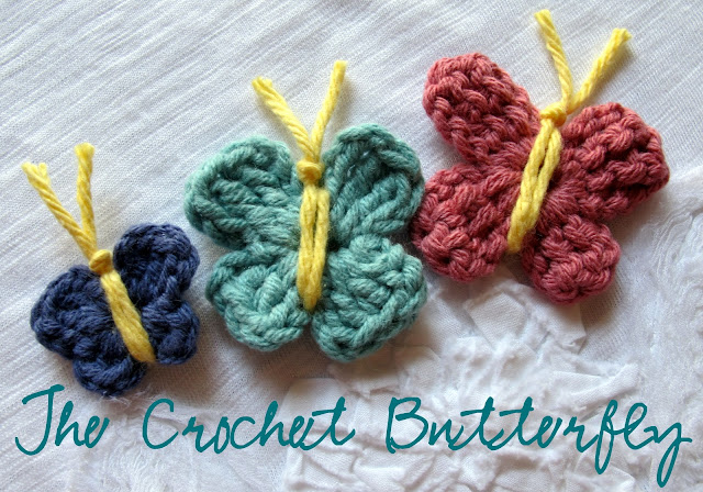 Love City: Get Hooked #3 - How to crochet a butterfly