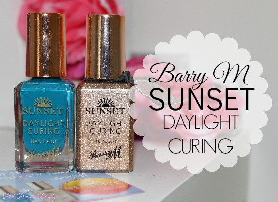 Barry M Sunset Daylight Curing Nail Polish Review and Photos