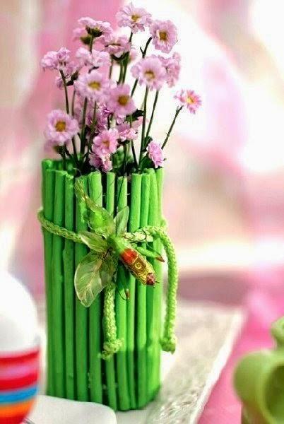 Dekoruojam vazą