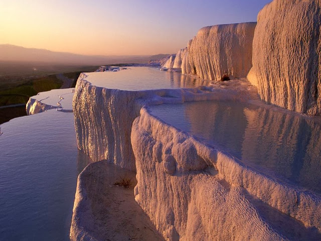 Pamukkale Pools in Turkey