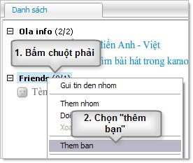 Huong dan su dung Ola tren may tinh