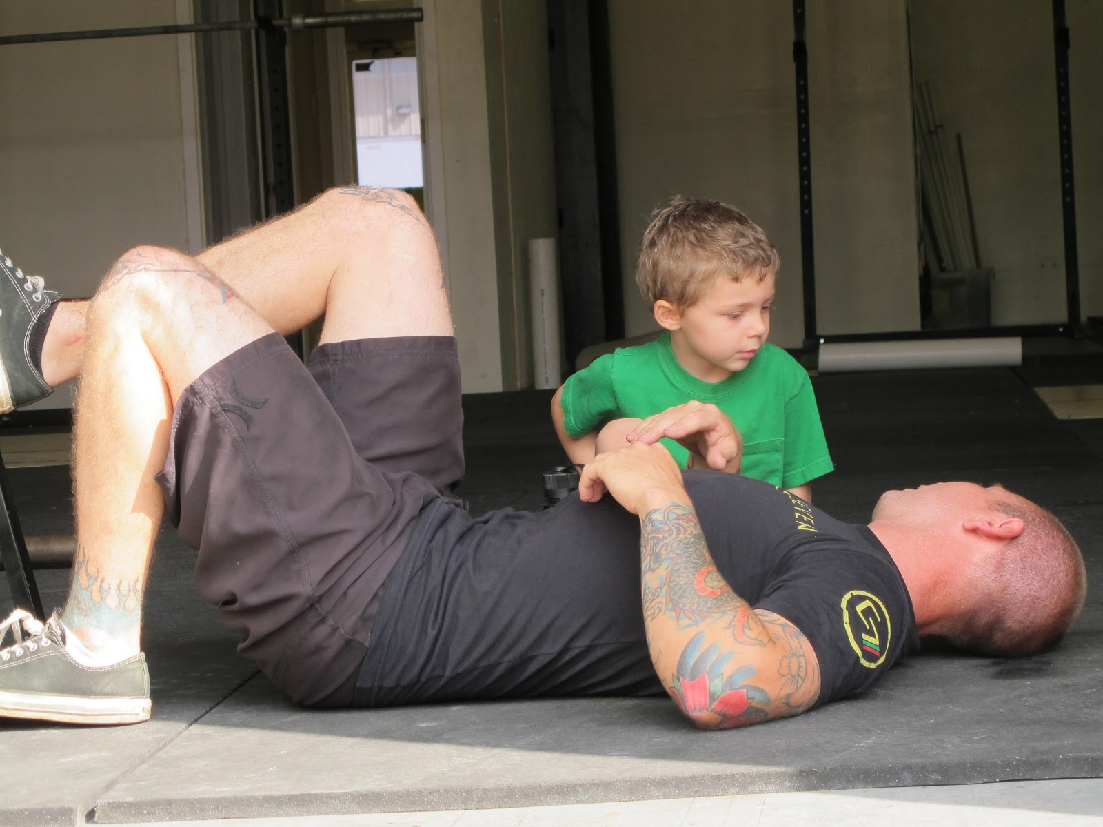 Brandt crossfit downtown fort worth - Lone Yeagar Looks After His Dad Post Wod