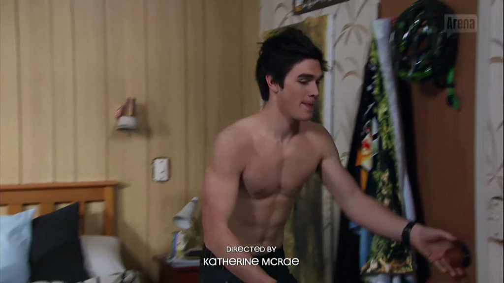 The Stars Come Out To Play: KJ Apa - Shirtless in