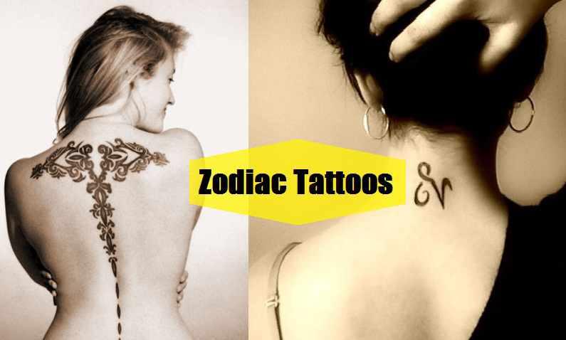 Gambar Tato Zodiak Apa Arti Di Balik Visi Desain ?